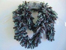 Sciarpa di lana multicolore Acrilico