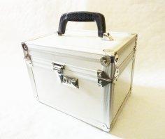 Board Case Make up Koffer Handgepäck Pilotenkoffer silber Friseur Hartschalenkoffer