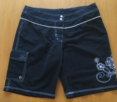 Chiemsee Swimming Trunk black-white polyester