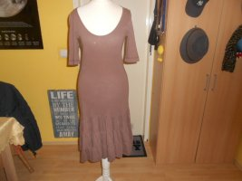 bobi Shortsleeve Dress light brown cotton