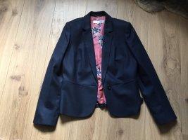 Boden Wool Blazer dark blue