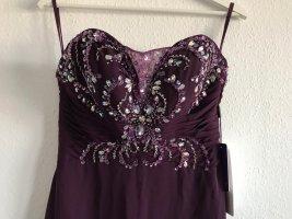 Bodenlanges Kleid Traube