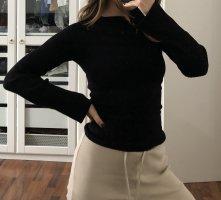 Bershka Lange top zwart