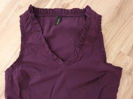 Street One Blusa tipo body rojo zarzamora-violeta oscuro
