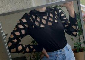 SheIn Bodysuit Blouse black