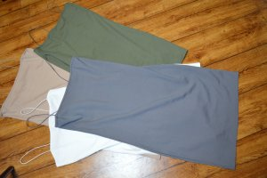 Nakd Pinafore dress grey