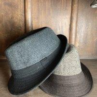 keine Cappello di lana marrone-antracite