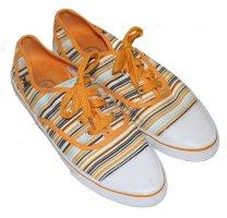 BOGNER Sneakers bunt gestreift Gr. 38