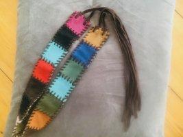 Desigual Leather Belt multicolored leather