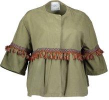 Zara Veste safari multicolore coton