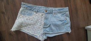 Boho Jeans Shorts