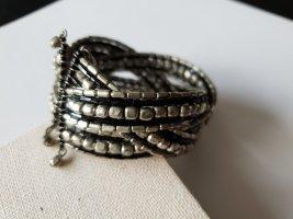 Modeschmuck Armlet black-silver-colored