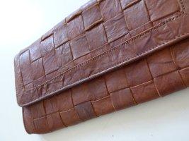 Boho-Vintage-Clutch aus Leder von Warehouse