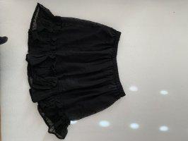 Bohoo Tiulowa spódnica czarny