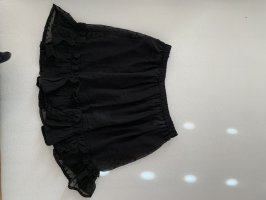 Bohoo Jupe en tulle noir