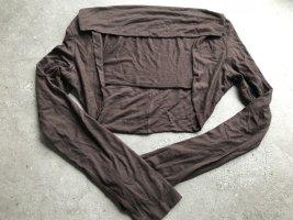 Amisu Bolero dark brown
