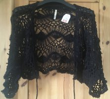 Knitted Bolero black