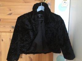 Bolero Jäckchen Faux fur 34 H&M