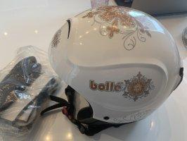 Bollé Skihelm weiß Schneeflocke