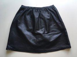 Bolzoni & Walsh Jupe en cuir noir cuir