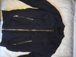 Topshop Flight Jacket dark blue