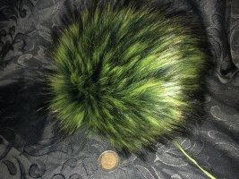 Gebreide Muts bos Groen