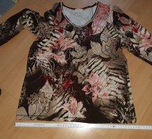 Bonita Camicia a tunica multicolore Tessuto misto