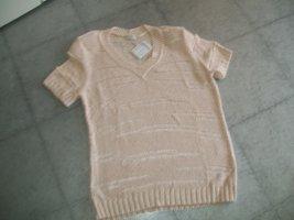 Bonita Sweter bez rękawów z cienkiej dzianiny brzoskwiniowy