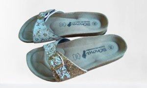 Bonova Comfort Sandals white-gold-colored