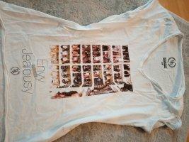Boom bap Shirt met print wit-zwart Katoen
