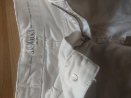 s.Oliver Jeans bootcut blanc