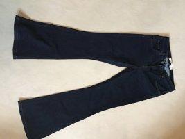 Victoria Beckham Boot Cut Jeans dark blue