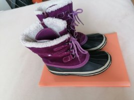 Botas de nieve lila