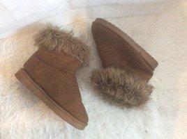 Chukka boot brun-beige