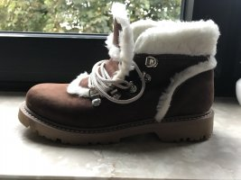 Snow Boots multicolored leather