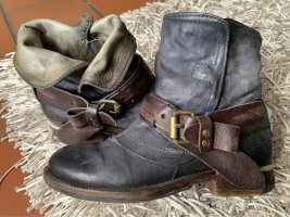 Airstep Ankle Boots slate-gray leather