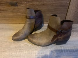 Marco Tozzi Ankle Boots brown-dark brown