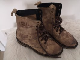 Cool Way Combat Boots light brown-brown