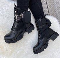 100% Fashion Botas de tobillo negro