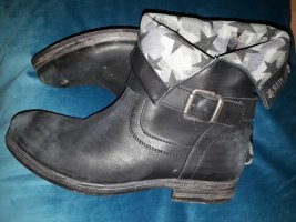 Replay Boots black leather