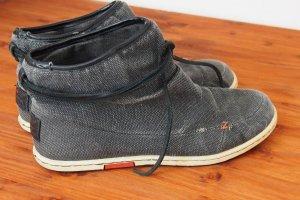 Boots Stiefel Stiefelette HUB grau 37