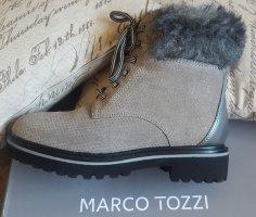 Marco Tozzi Botas con cordones multicolor