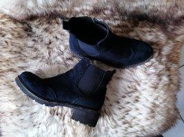 Boots / Stiefelette in Dunkelblau Gr. 38 von Graceland