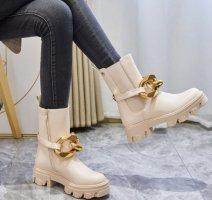 Chelsea laarzen beige