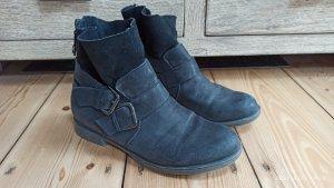 Tamaris Botas de tobillo gris antracita