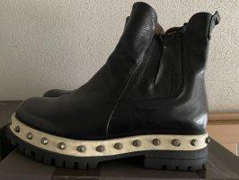 A.S.98 Low boot noir-blanc