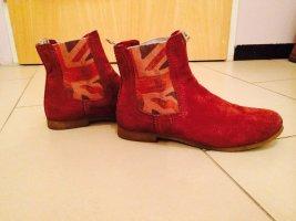 Crick it Boots carmine leather