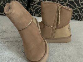 Esprit Chelsea laarzen camel-beige