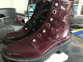 Be only Desert Boots carmine synthetic fibre