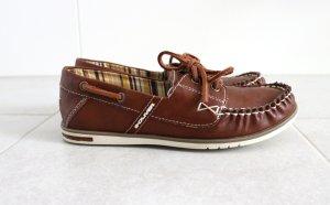 s.Oliver Zapatos de marinero coñac